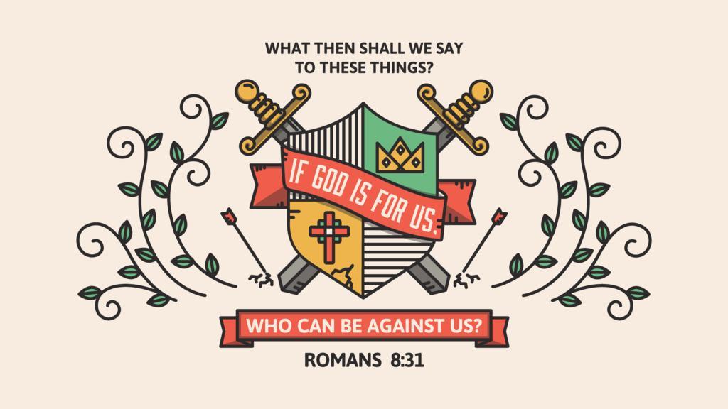 Romans 8:31 large preview