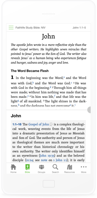 Faithlife Study Bible - Faithlife