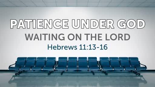 Patience Under God