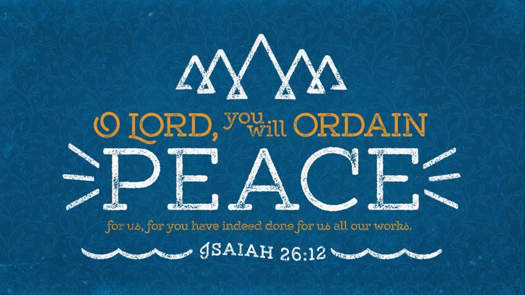 Isaiah 26:12 large preview