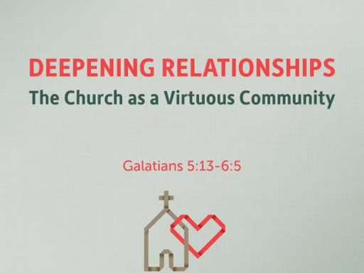 The Church as a Virtuous Community