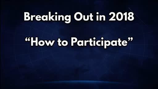 Break Out in 2018