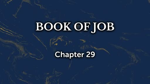 Job: Chapter 29 - Faithlife Sermons