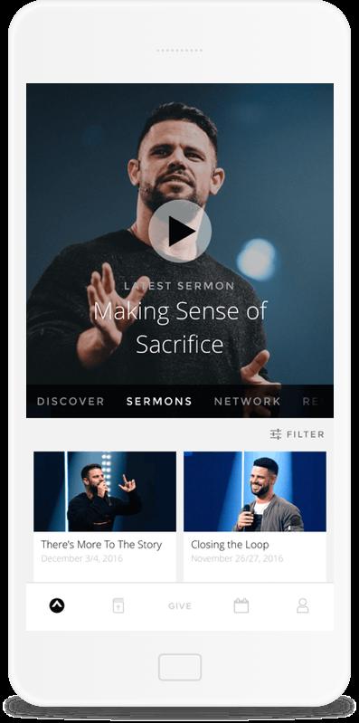 Custom Church Apps onIphone