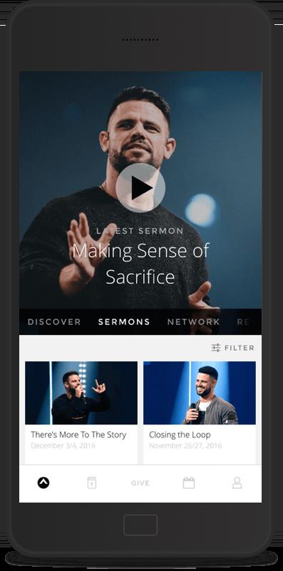 Custom Church Apps on iPhone