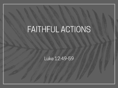 Faithful Actions