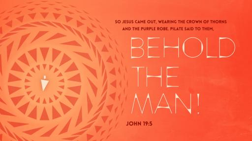 John 19:5 verse of the day image