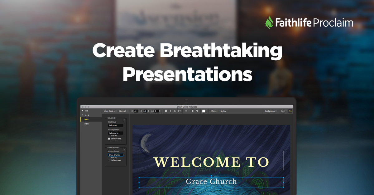 Proclaim Church Presentation Software
