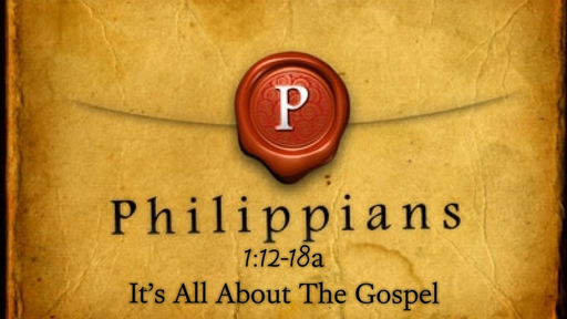 February 11, 2018 - It's All About The Gospel