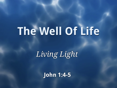02 11 2018 The Well of Life