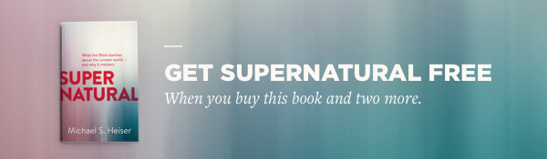 Get Supernatural free when you buy this book and two more.