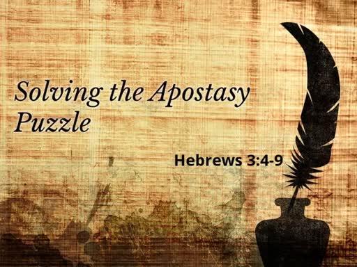 Solving the Apostasy Puzzle