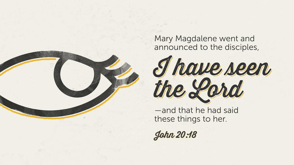 John 20:18 large preview