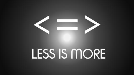 Less Selfishness - More Selflessness
