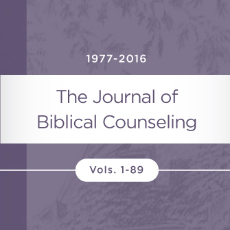 Journal of Biblical Counseling (89 issues)