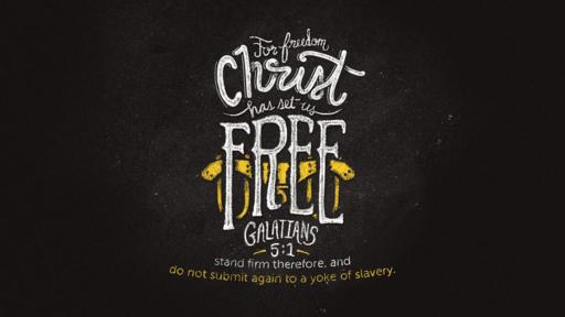 Galatians 5:1 verse of the day image
