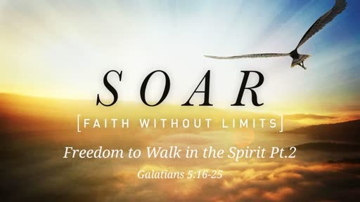 Freedom to Walk in the Spirit Pt.2
