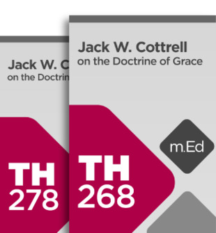 Mobile Ed: Jack W. Cottrell on Grace and Baptism (2 courses)