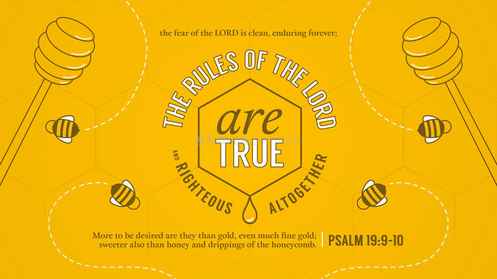 Psalm 19:9–10 large preview