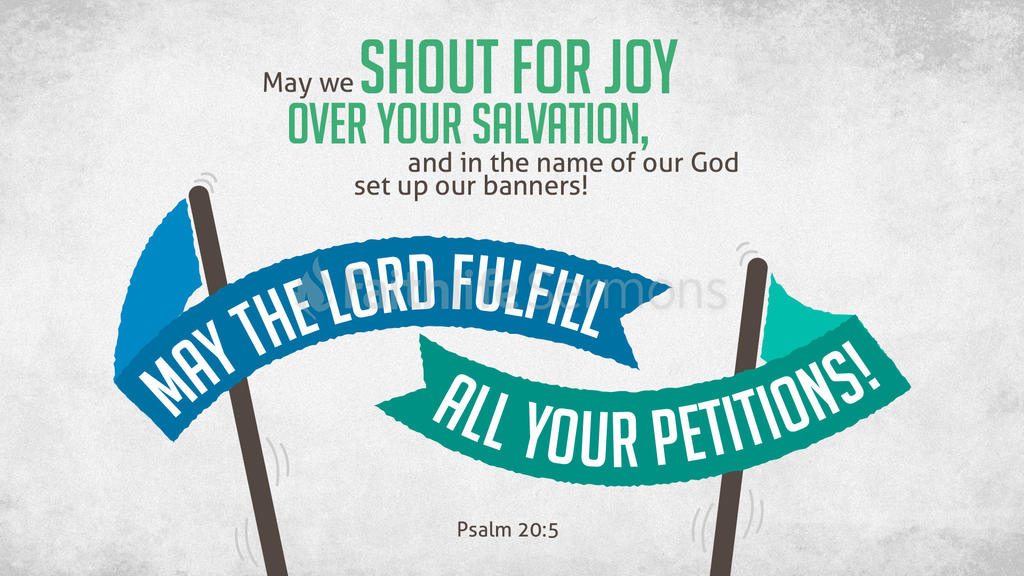 Psalm 20:5 large preview