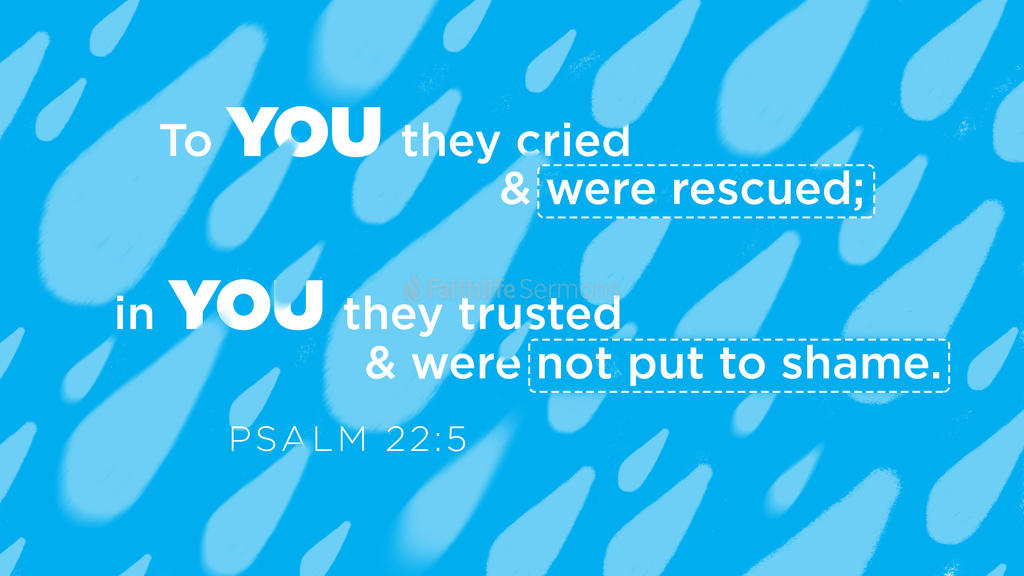 Psalm 22:5 large preview