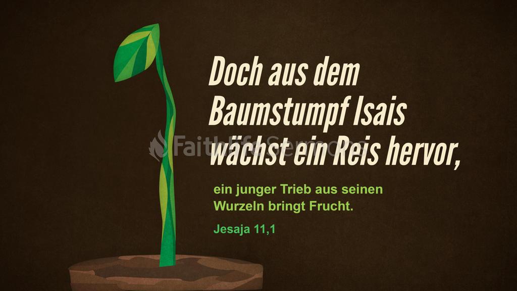 Jesaja 11,1 large preview