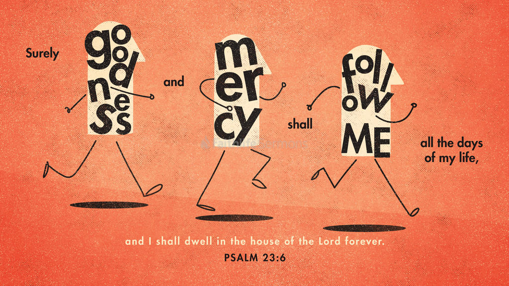 Psalm 23:6 large preview