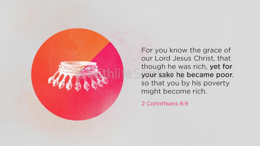 2 Corinthians 8:9 large preview