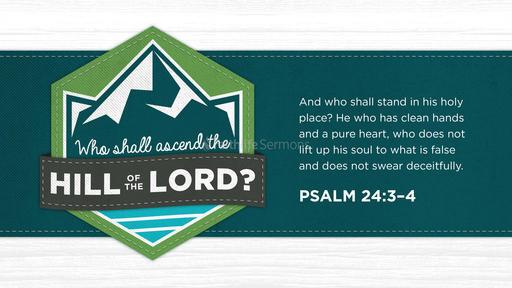 Psalm 24:3–4