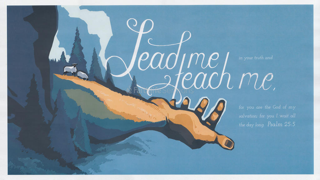 Psalm 25:5 large preview