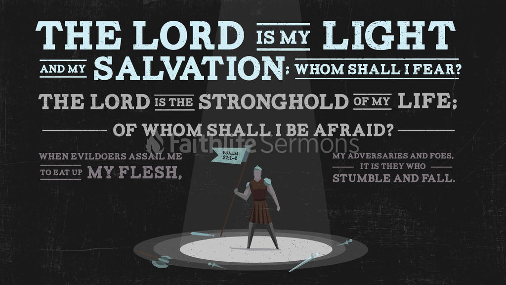 Psalm 27:1–2 large preview