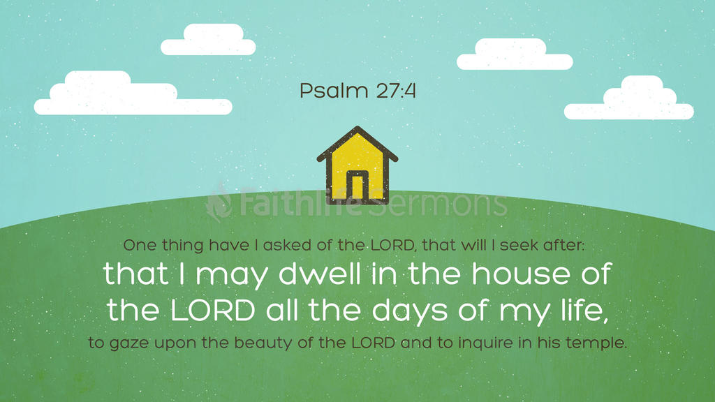 Psalm 27:4 large preview