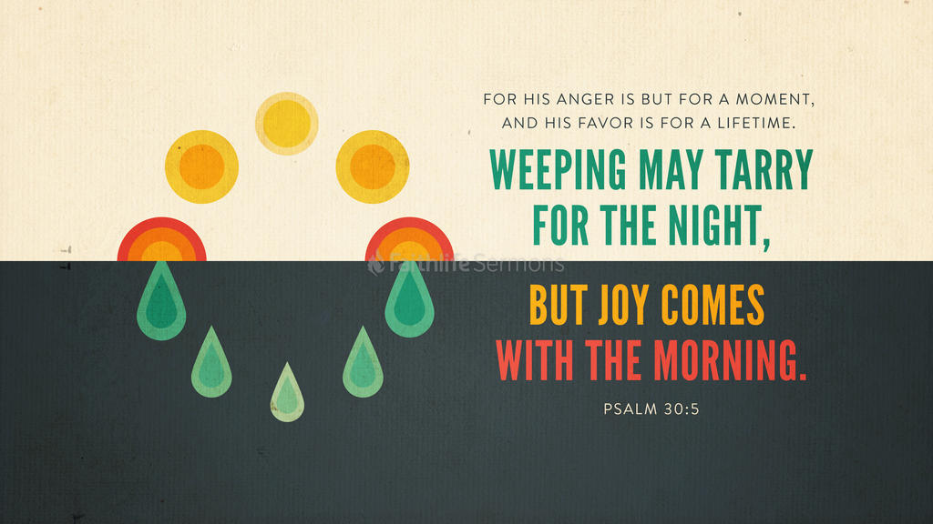 Psalm 30:5 large preview