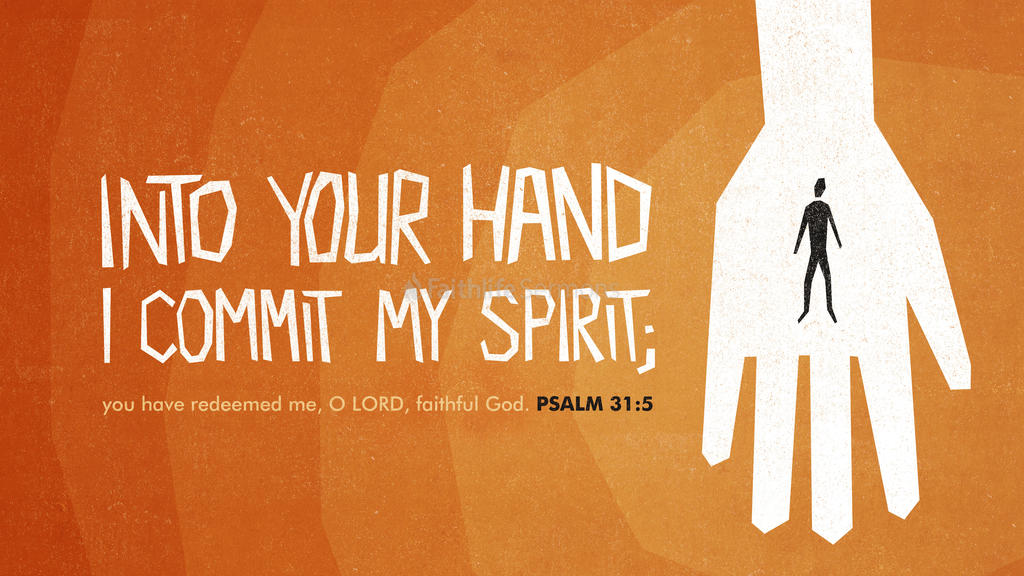 Psalm 31:5 large preview