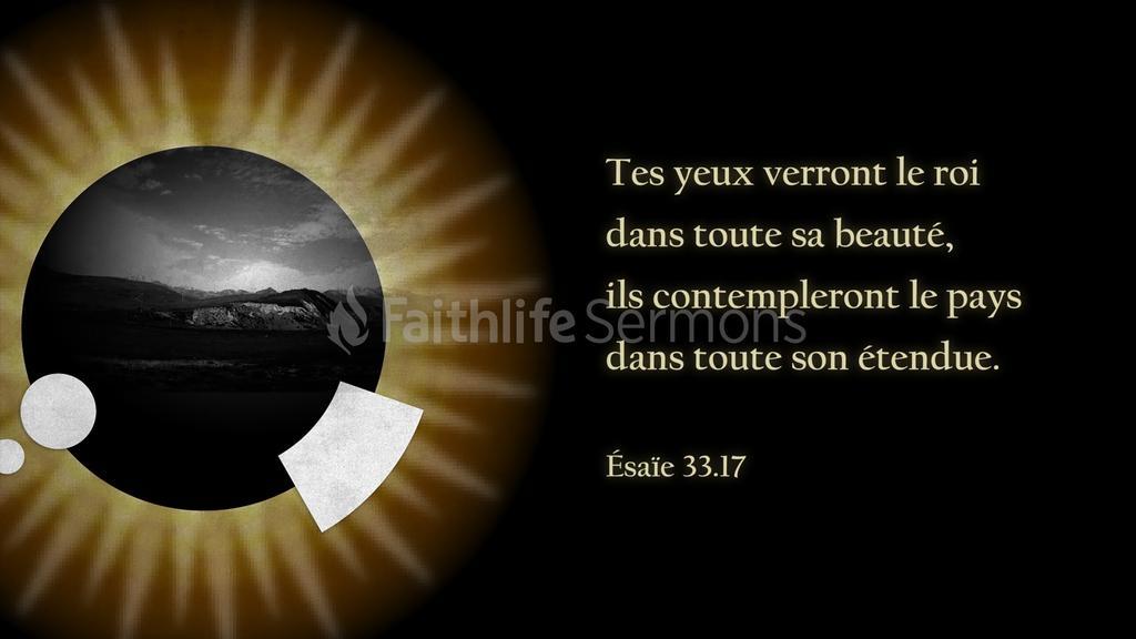 Ésaïe 33 preview