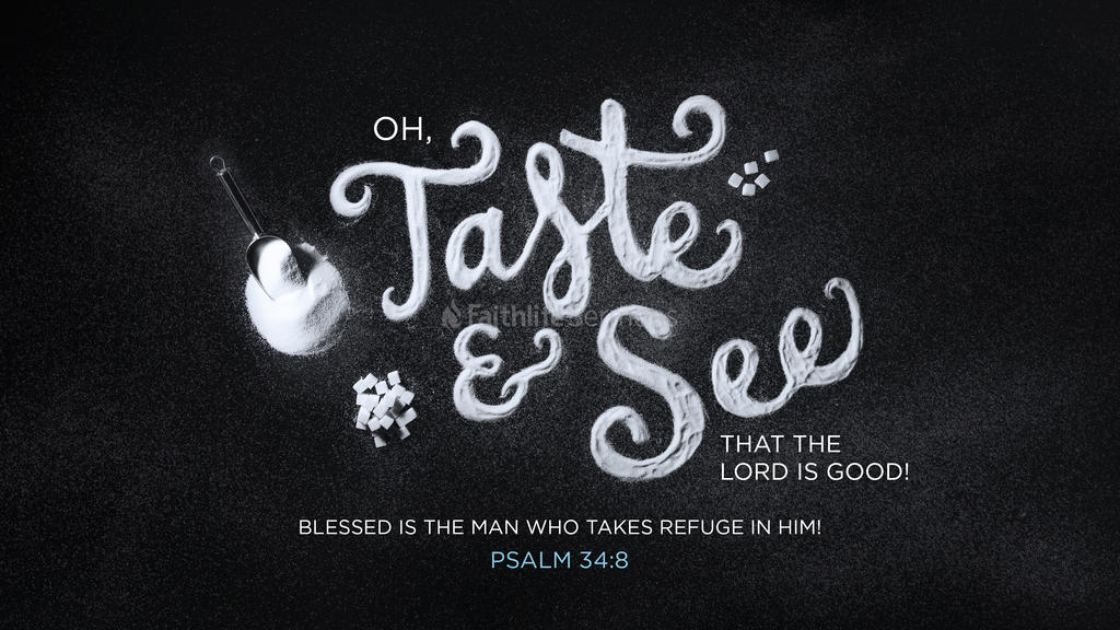 Psalm 34 8 3840x2160 preview