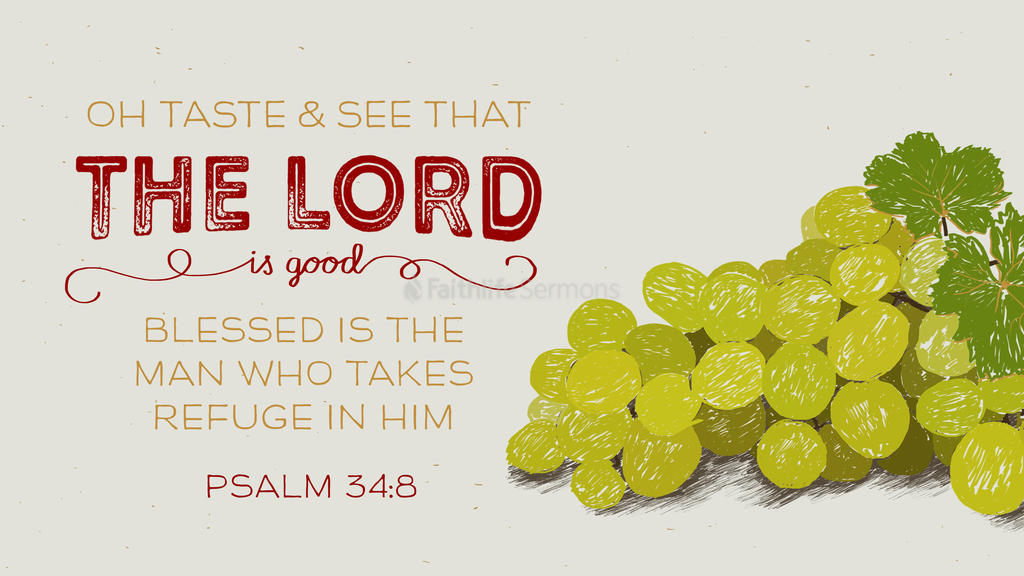 Psalm 34:8 large preview