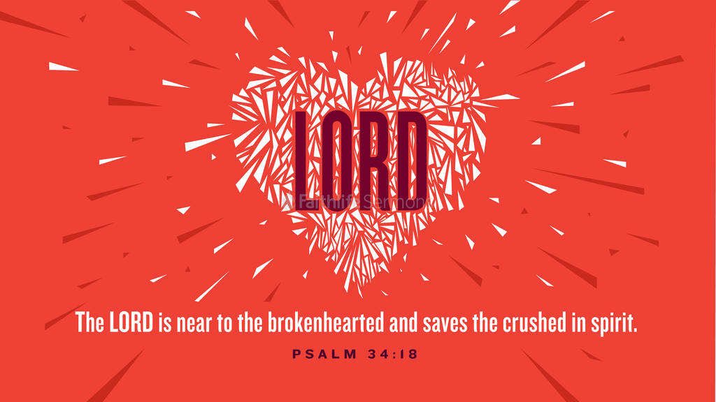 Psalm 34:18 large preview