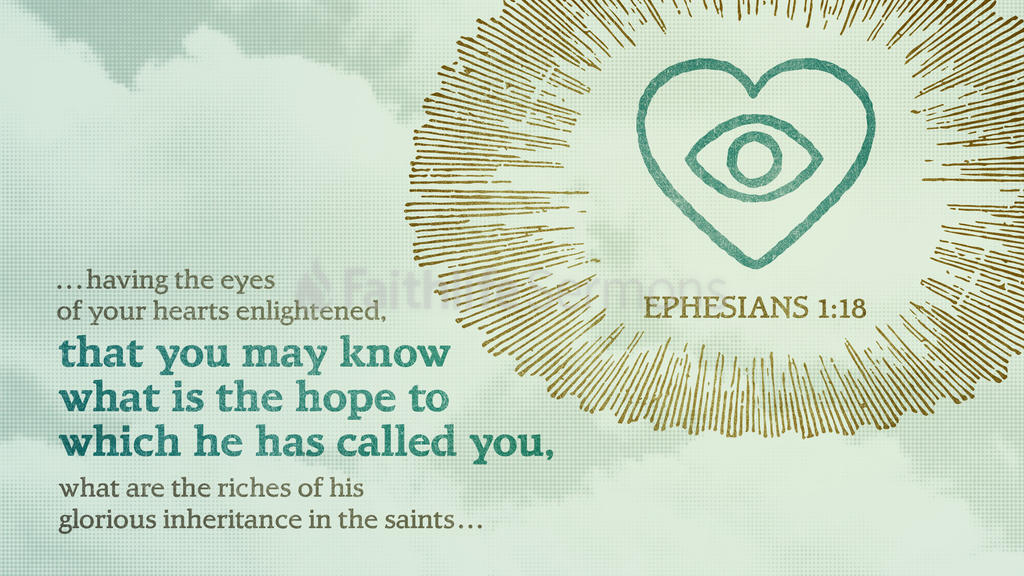 Ephesians 1:18 large preview