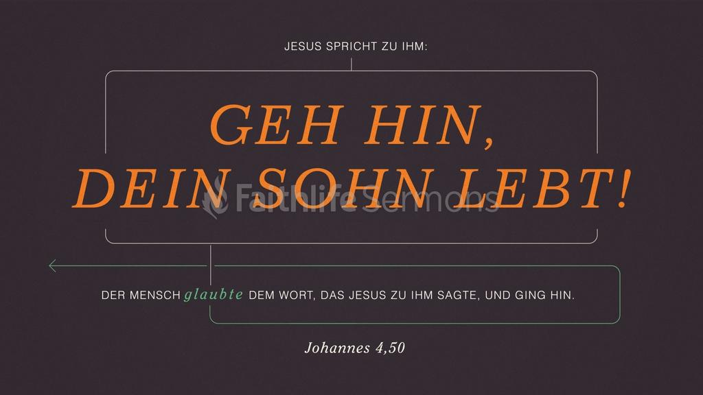 Johannes 4,50 large preview