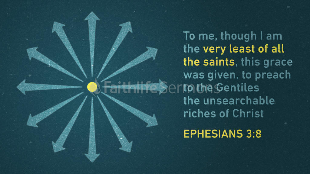 Ephesians 3:8 large preview