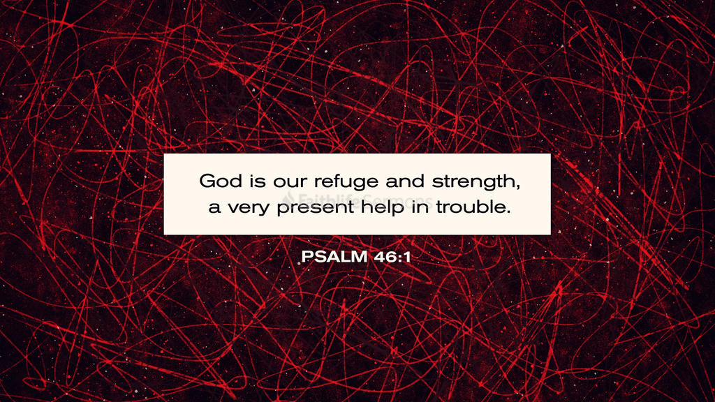 Psalm 46:1 large preview