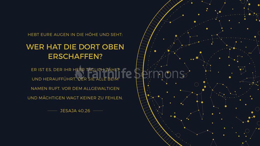 Jesaja 40,26 large preview