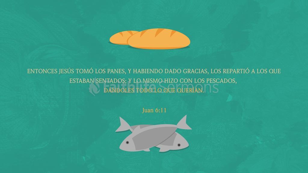 Juan 6.11 large preview