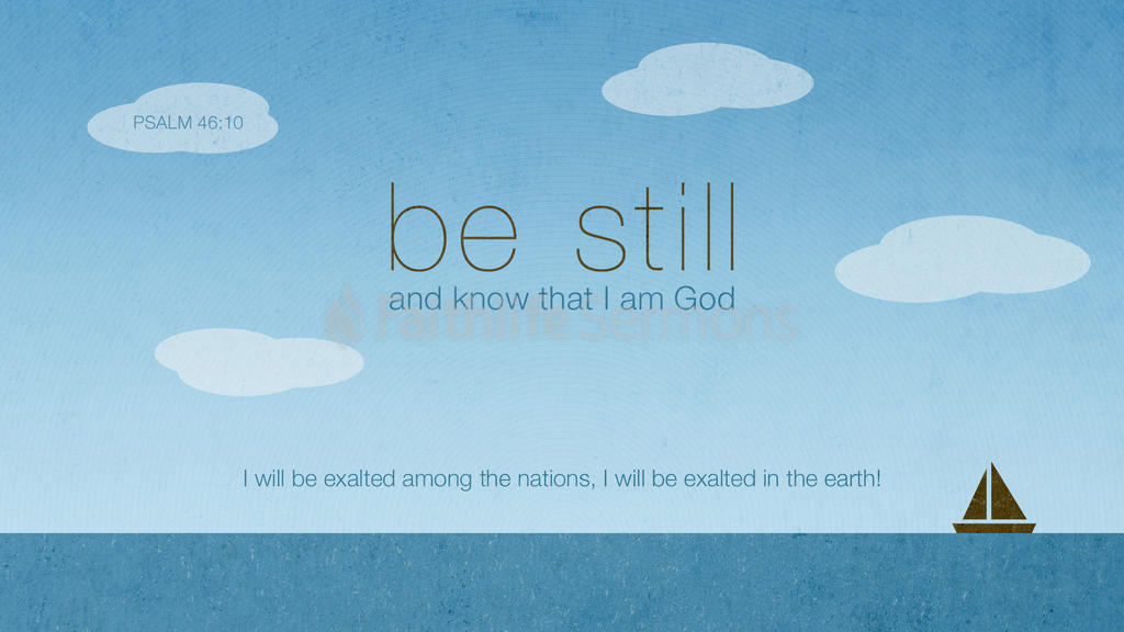 Psalm 46:10 large preview