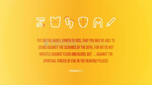 Ephesians 6:11–12