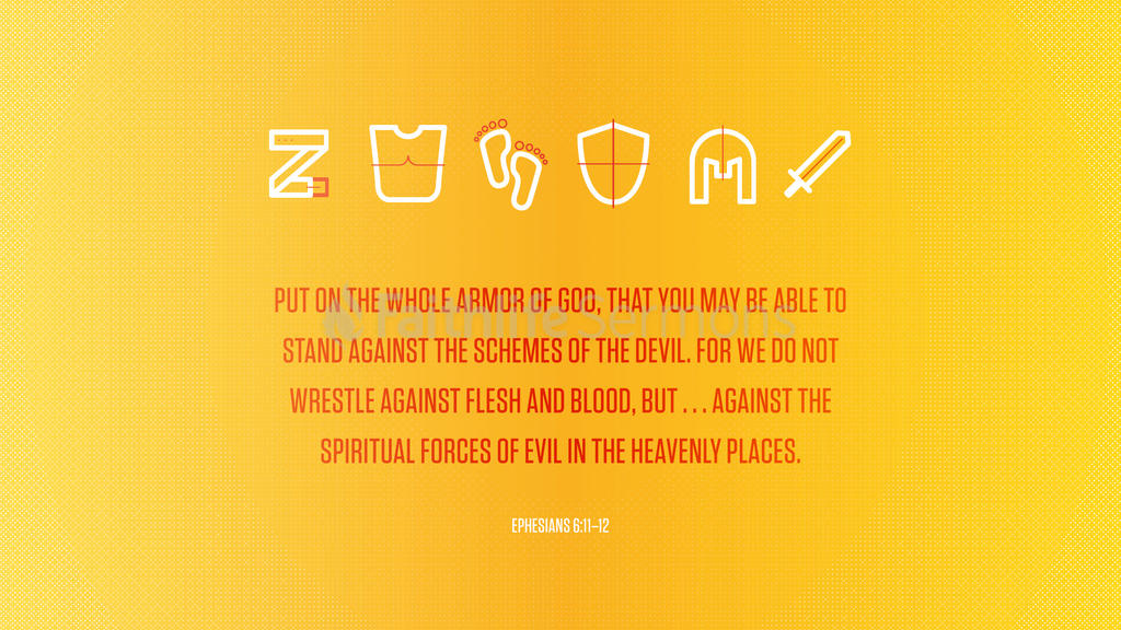 Ephesians 6:11–12 large preview