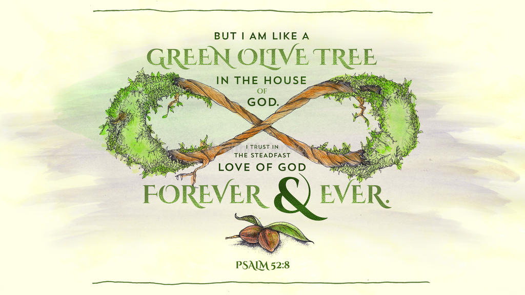 Psalm 52:8 large preview