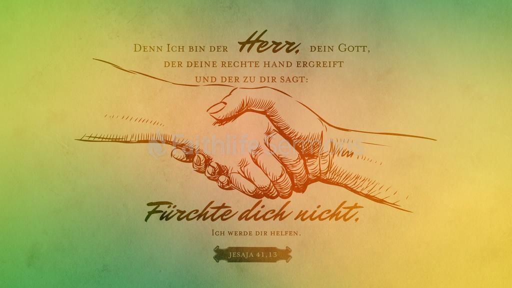 Jesaja 41,13 16x9 preview