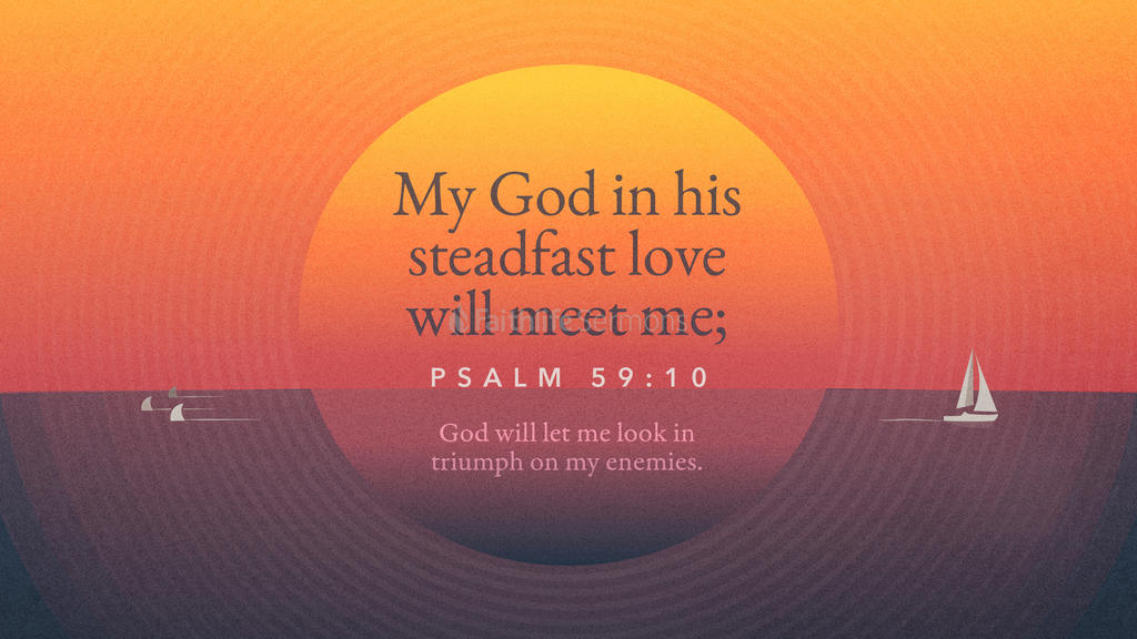 Psalm 59:10 large preview